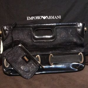 Emporio Armani large Clutchwith little wallet